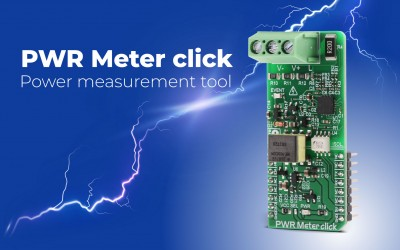 PWR Meter click - accurate power monitoring Click board™