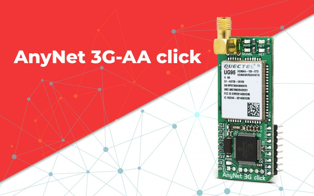 AnyNet 3G-AA click - cellular to AWS gateway device