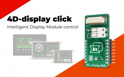 4D-display click - controll 4D Systems gen4 Series intelligent Display Modules