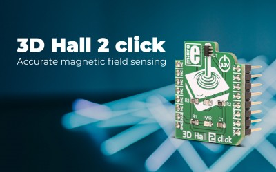 Say hello to our new 3D Hall 2 click.