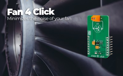 Fan 4 click is here, ready to minimize your fan noise.