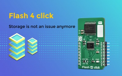 Flash 4 – an awesome mass storage for your embedded applications.