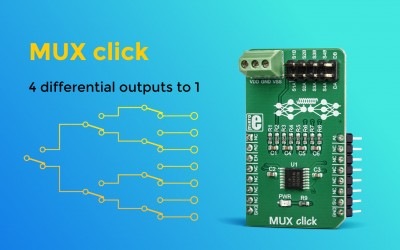 MUX click – a signal translator for differential signals applications
