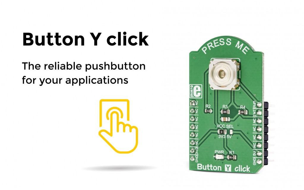 Button Y click, bringing you the reliable and durable push button