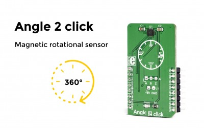 Angle 2 - Magnetic rotation sensor for absolute angular positional data