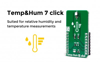 Temp&Hum 7 – measuring the relative humidity (RH) and temperature