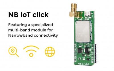 NB IoT click – providing global NB connectivity