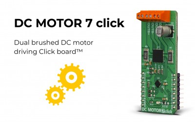 DC MOTOR 7 click is released