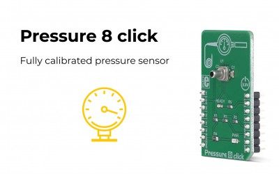 Pressure 8 click – for accurate pressure measurement