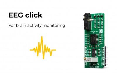 Develop a brain-machine interface application with EEG click