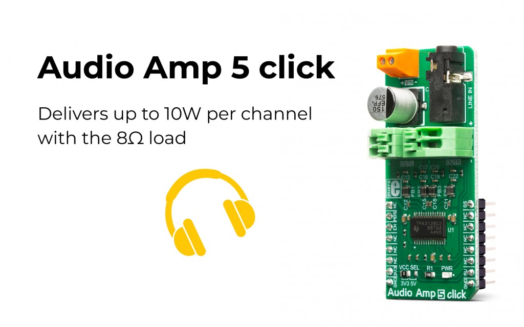 Audio Amp 5 click is here