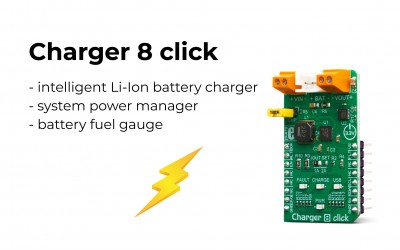 Charger 8 click – complete diagnostics of the battery charging process