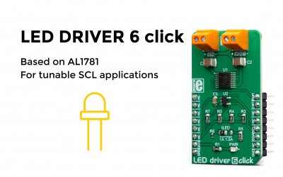High brightness LED driver 6 click is here