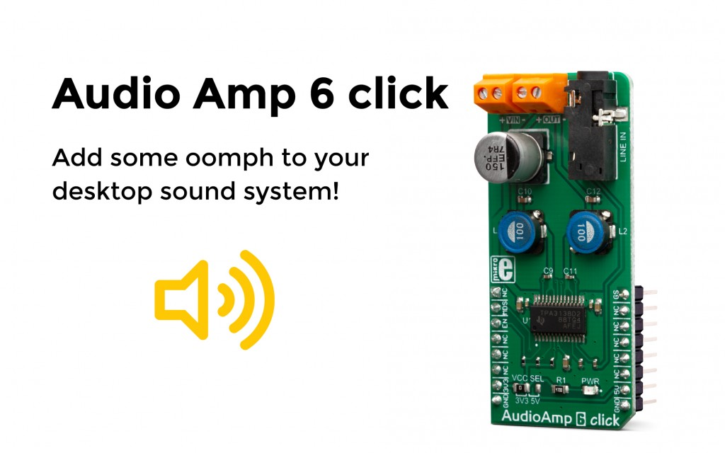 Add some oomph to your desktop sound system!