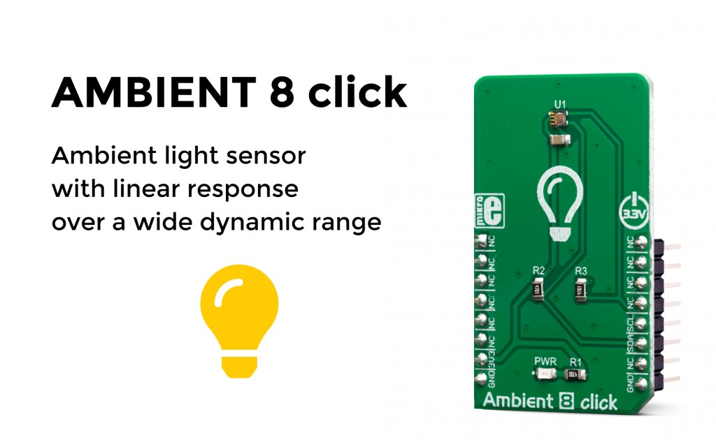 Accurate ambient light sensing over a wide brightness range