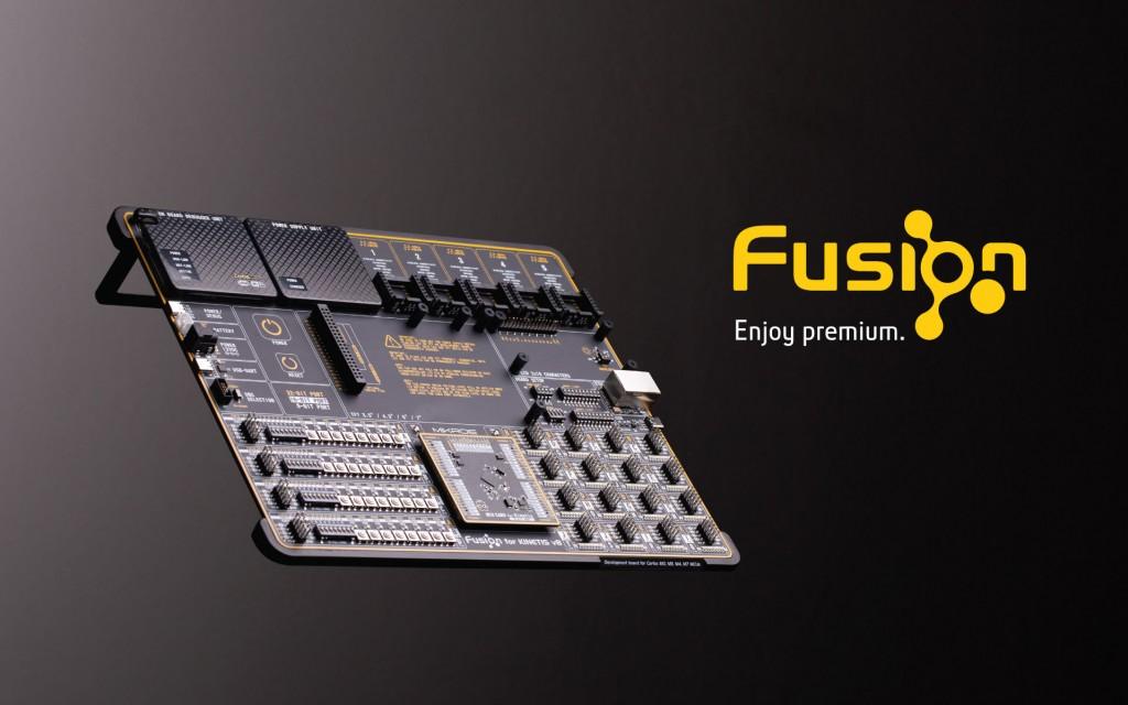 Fusion for KINETIS v8 Development Board