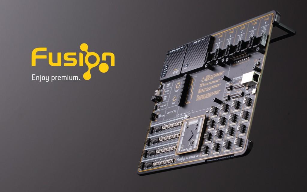 Fusion for STM32 v8 Development Board