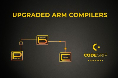 The updated version of Mikroe ARM compilers is now available!