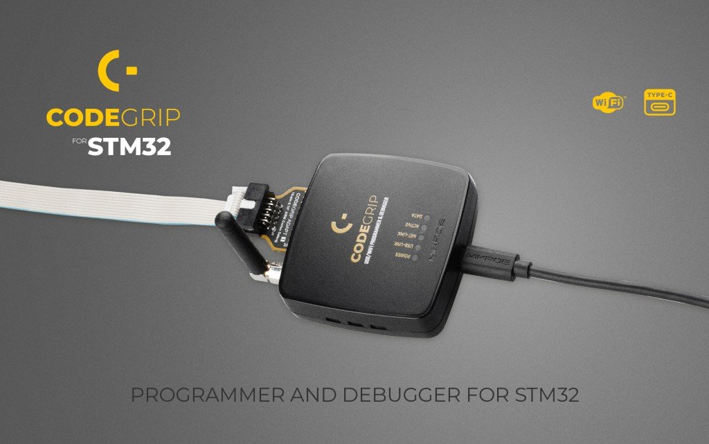 CODEGRIP for STM32 – unlimited possibilities with WiFi