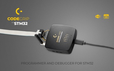 CODEGRIP for STM32 – unlimited possibilities with WiFi programming & debugging