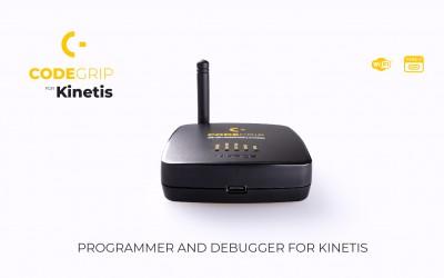 CODEGRIP for Kinetis - Enjoy the WiFi programming & debugging