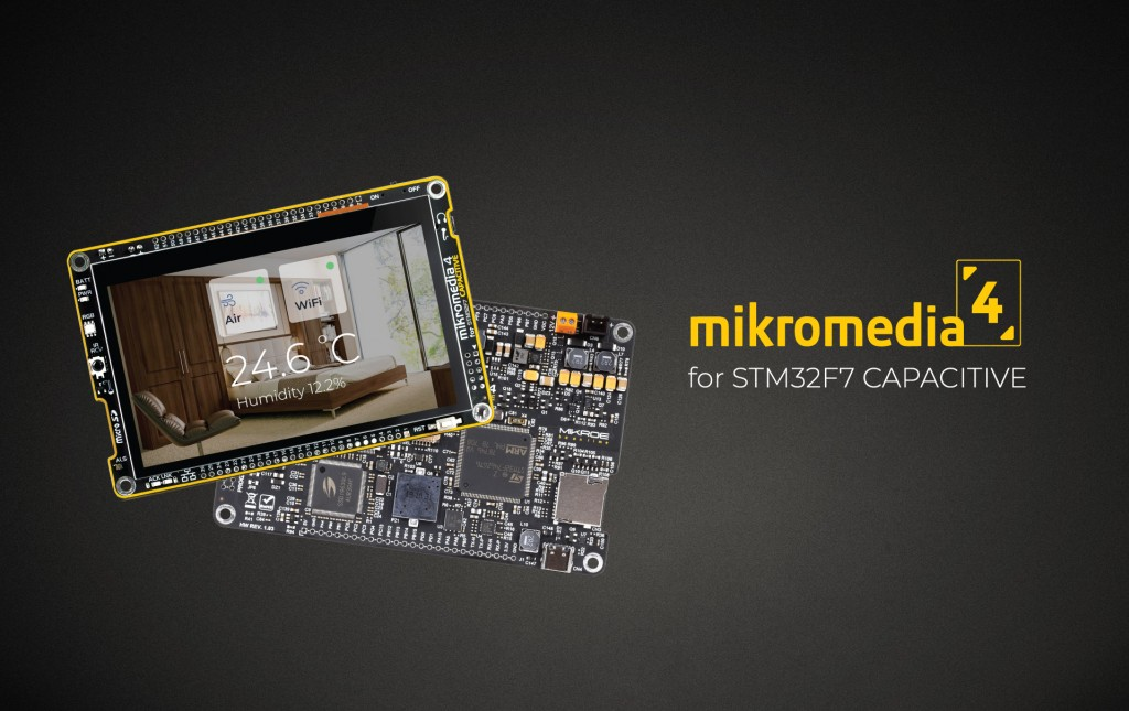 Mikromedia 4 for STM32 CAPACITIVE