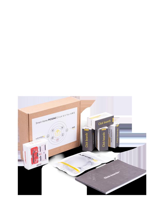 SmartHome PIC32MZ Click Kit