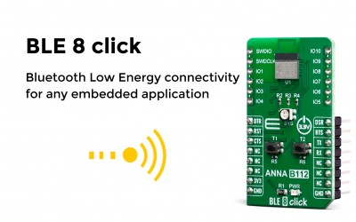 Bluetooth Low Energyconnectivity for any embedded application