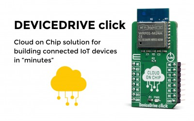 "Cloud on Chip solution for building connected IoT devices in ""minutes"""