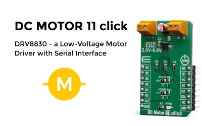 Low-Voltage Motor Driver with Serial Interface
