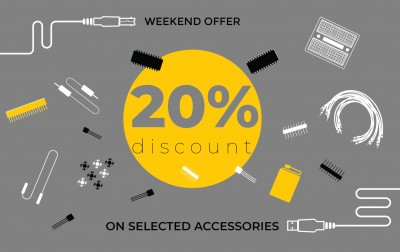 Discount on selected accessories