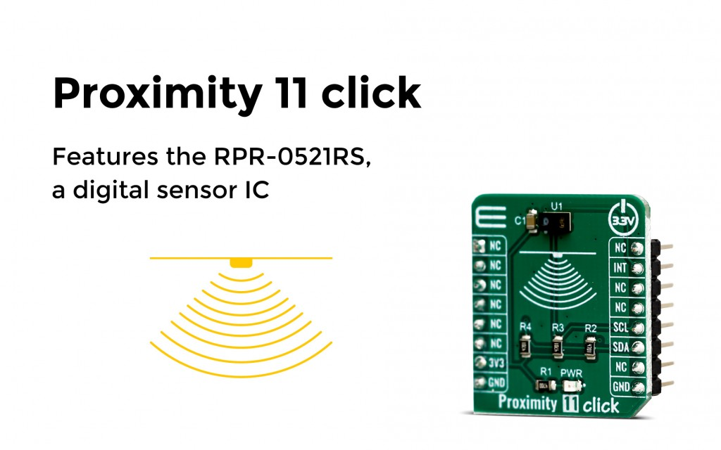 Features the RPR-0521RS, a digital sensor IC equipped