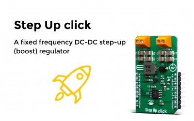 A fixed frequency DC-DC step-up (boost) regulator