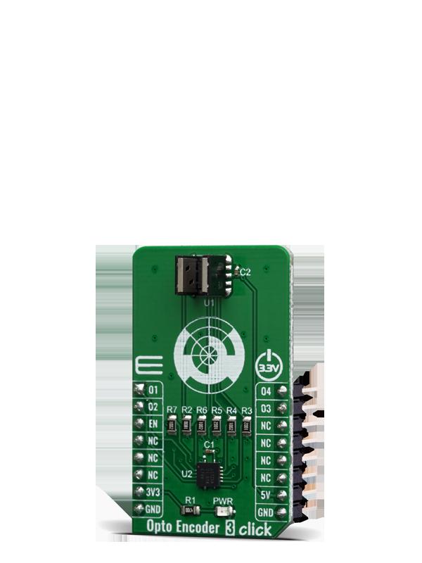 Opto Encoder 3 click