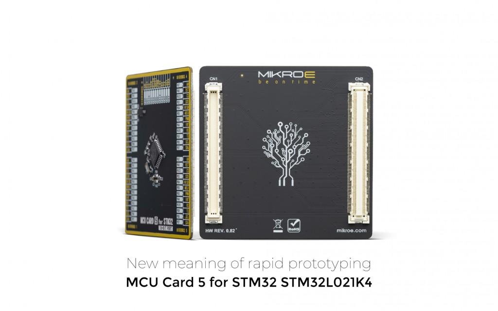 MCU Card 5 for STM32 STM32L021K4