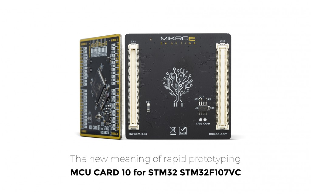 MCU Card 10 for STM32 STM32F107VC