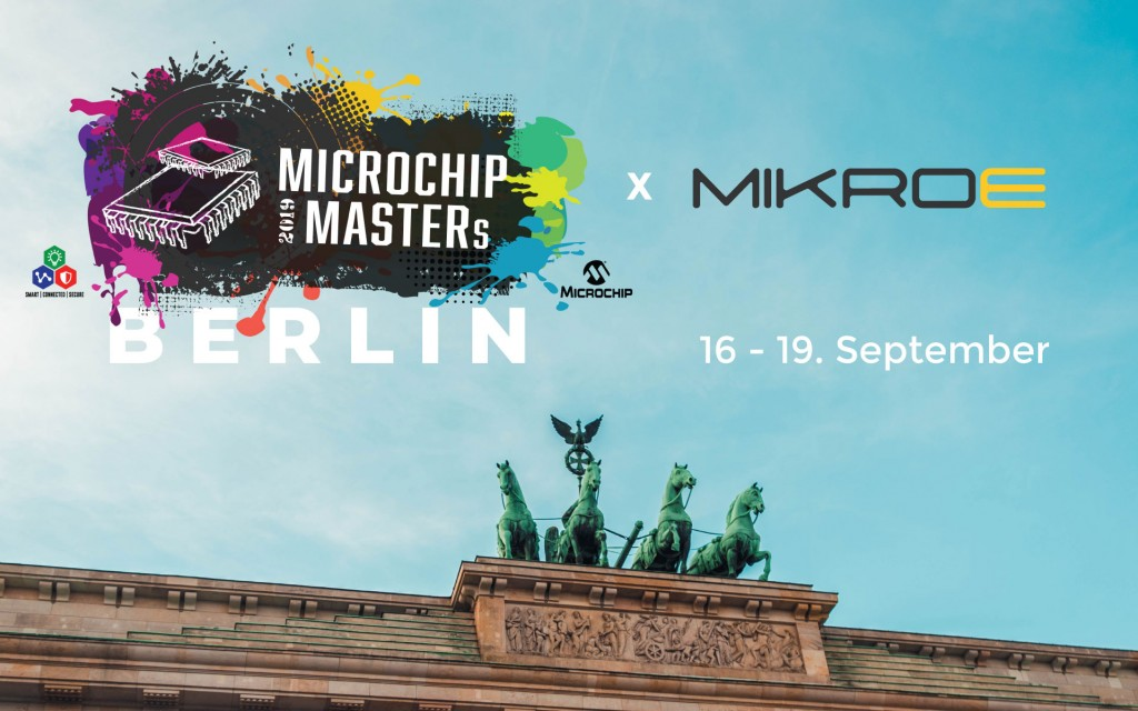 Mikroe at the Microchip Masters Berlin event