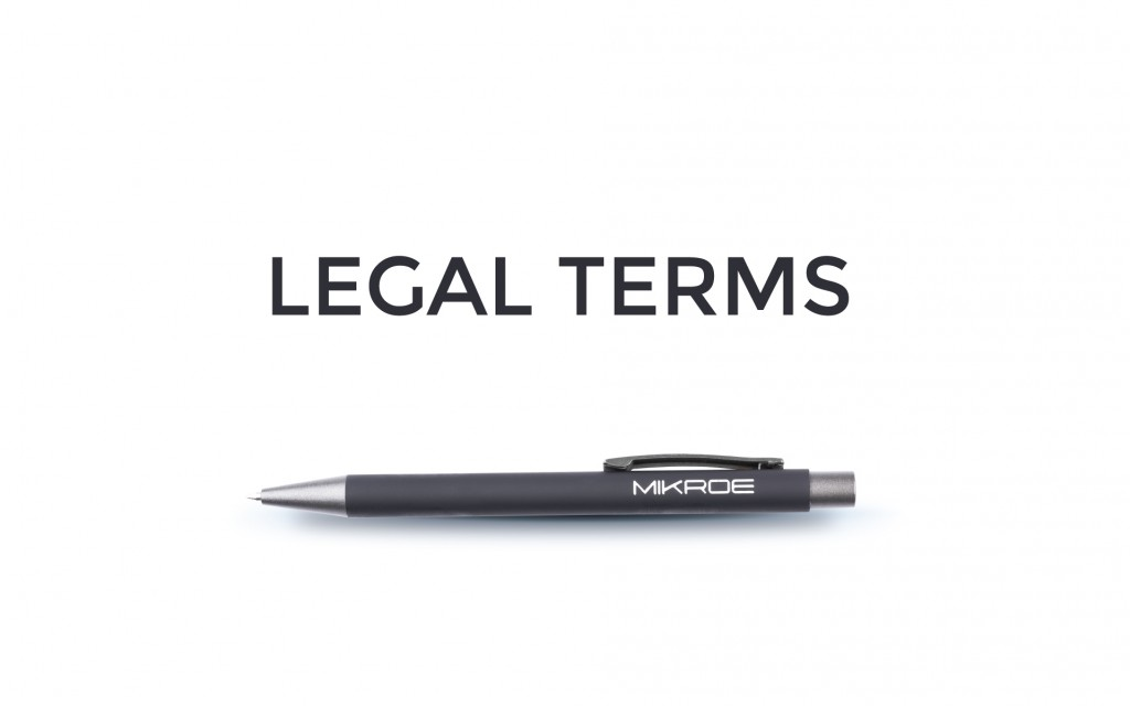 We have updated our legal terms