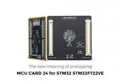 MCU Card 24 for STM32 STM32F722VE