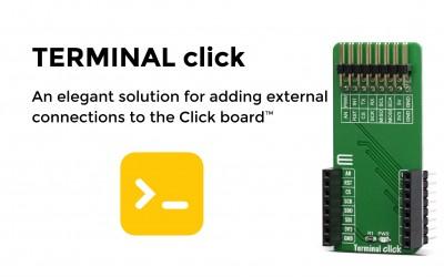 Terminal click
