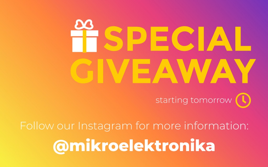 SPECIAL INSTAGRAM GIVEAWAY TOMORROW