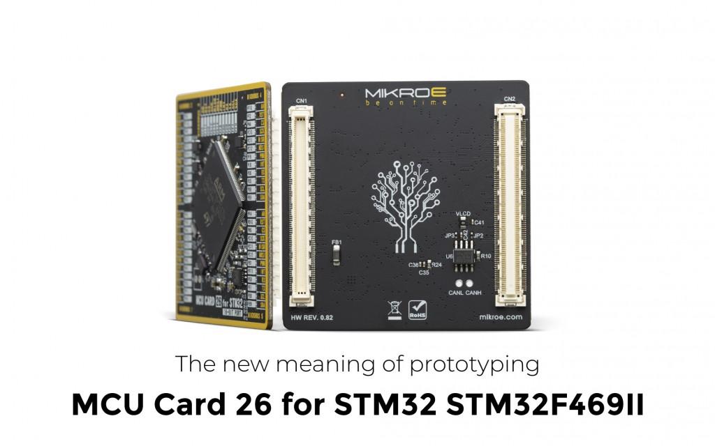 MCU CARD 26 for STM32 STM32F469II
