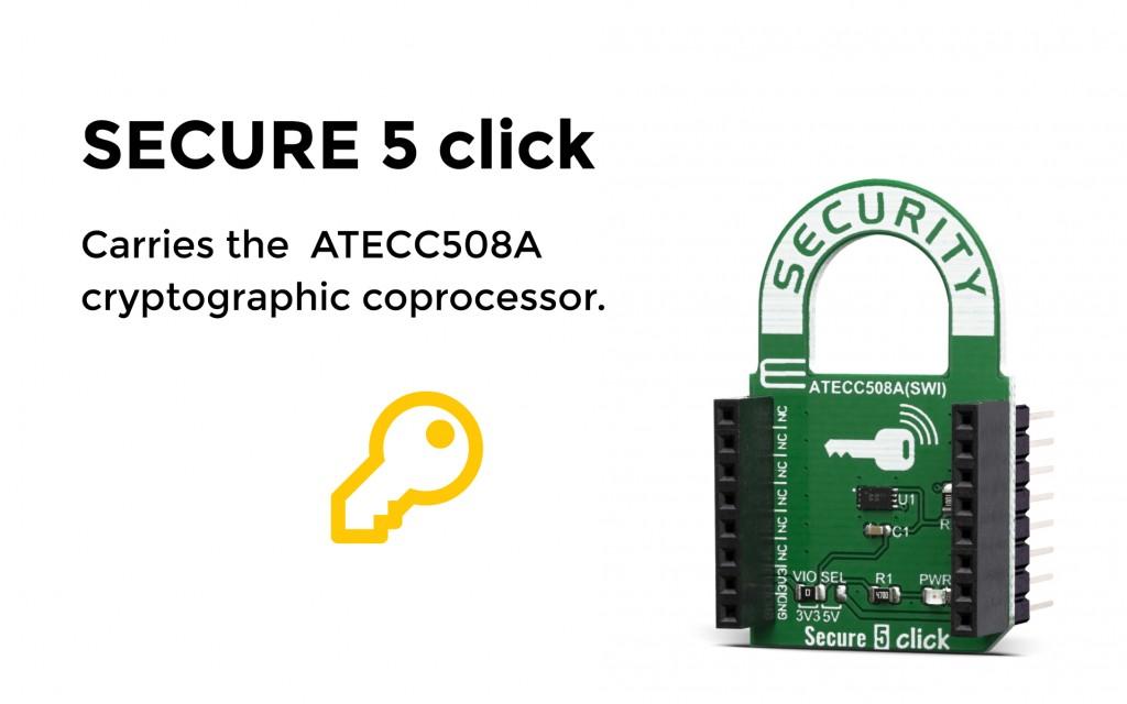 Secure 5 click