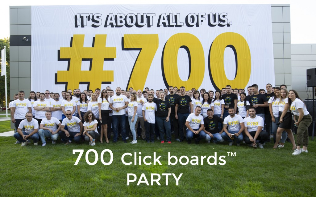 700th Click board™ party