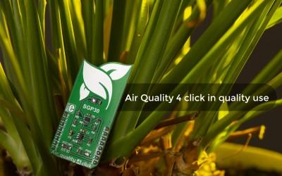 Read air quality data