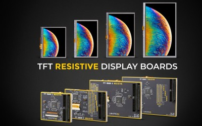 Meet the TFT Resistive display boards