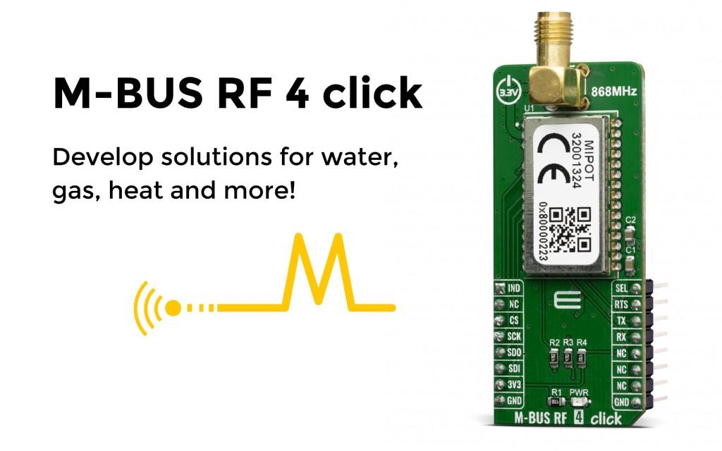 M-BUS RF 4 click