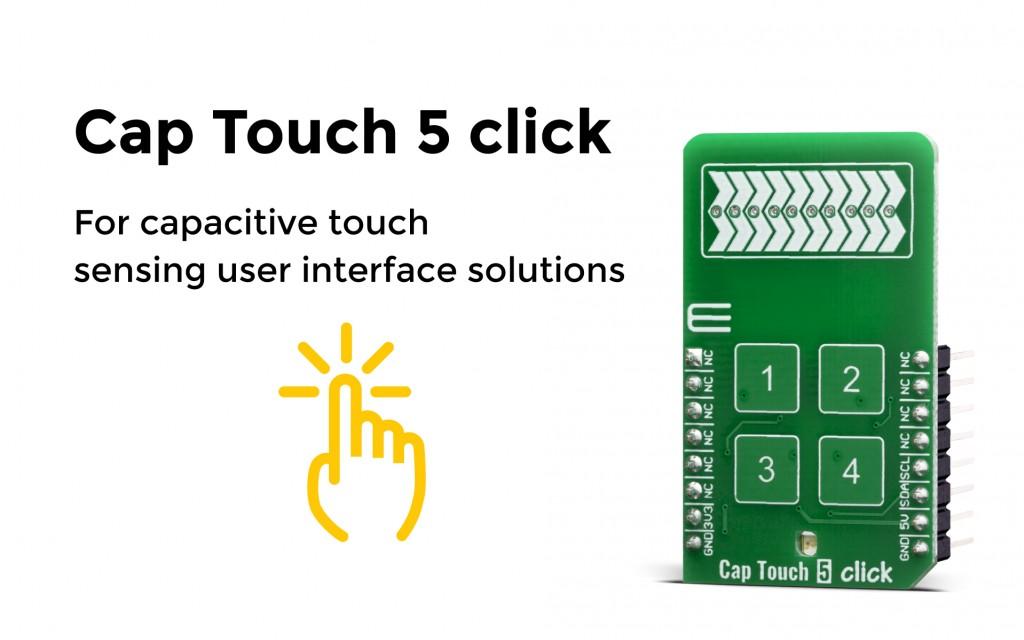 Cap Touch 5 click