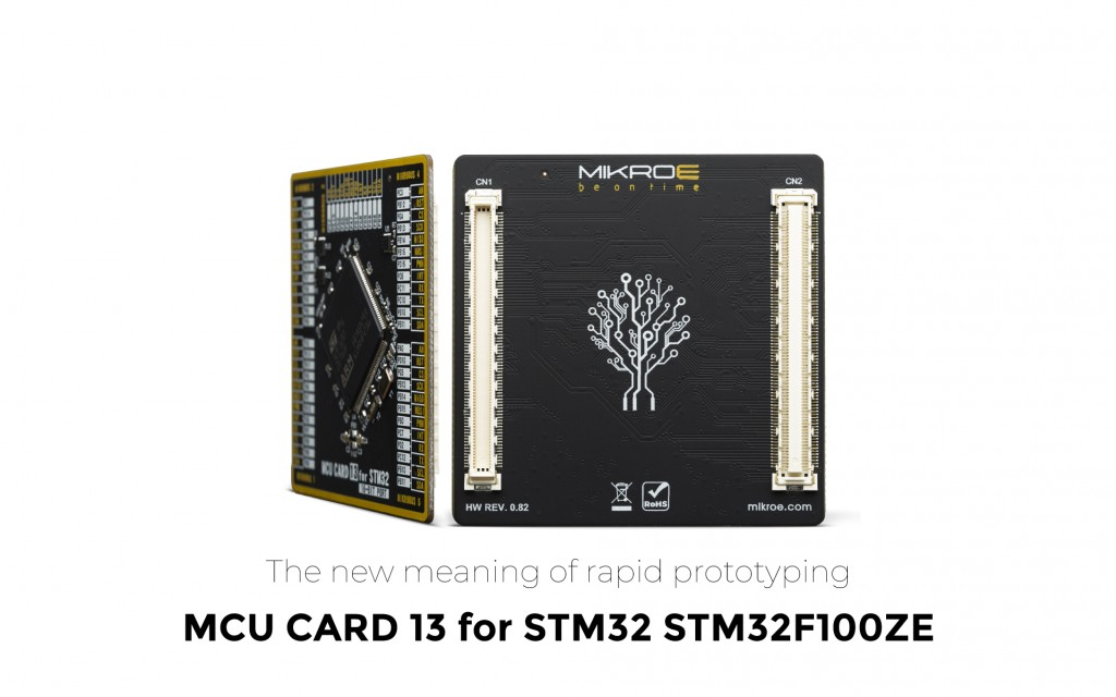 MCU Card 13 for STM32 STM32F100ZE