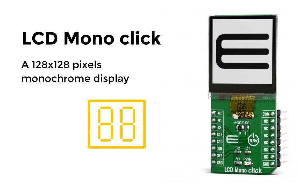 LCD Mono click